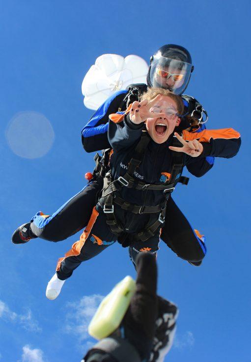 Skydiving Prage Tandem Jump