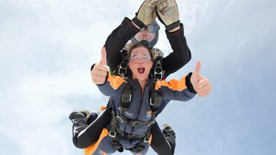 Skydiving Tandem Jump Prague